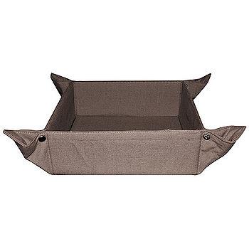 《WINKLER》CORBEILLE 可摺疊麵包盤(深棕褐)