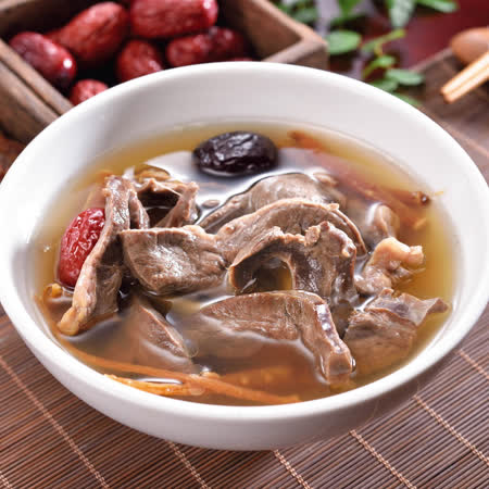 (任選)艾其肯養生雞湯 人蔘燉豬心(450g/包)