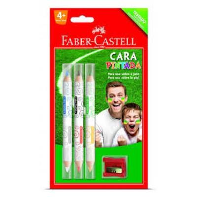 ~Faber ~ Castell 輝柏~6 色人體彩繪筆