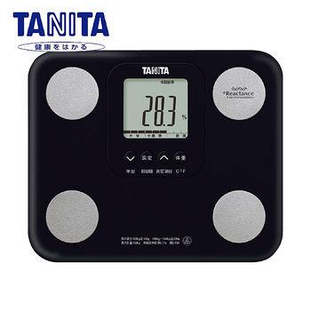 TANITA 七合一自動辨識體脂肪計(黑)
