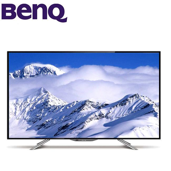 BenQ 50吋智慧藍光不閃屏LED液晶顯示器+視訊盒(50IW6500)送HDMI線+馬卡龍密封罐2入