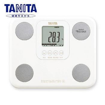 TANITA 七合一自動辨識體脂肪計(白)