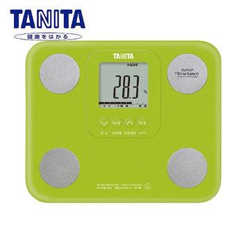 TANITA 七合一自動辨識體脂肪計(綠)