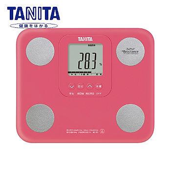 TANITA 七合一自動辨識體脂肪計(粉紅)