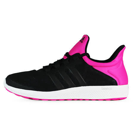 adidas 女 CC SONIC W 愛迪達 慢跑鞋 粉/黑 - AQ3589