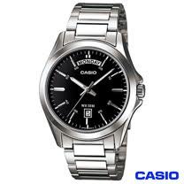 CASIO卡西歐 簡潔造型經典男仕腕錶 MTP-1370D-1A1