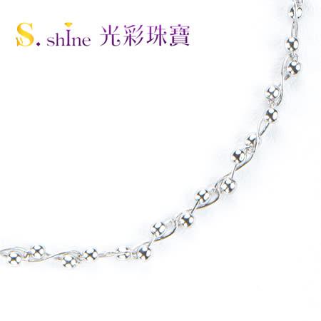 【光彩珠寶】日本鉑金手鍊 俏皮佳人