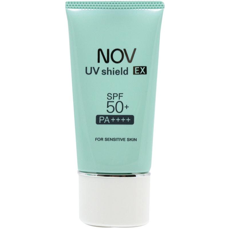 【NOV娜芙】 防曬隔離霜SPF50+ 30g 小孩也可以使用 [臉部、身體用]  隨機贈妝品體驗包2包