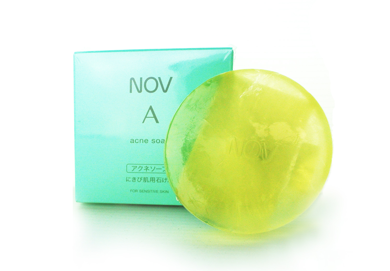 ~NOV娜芙~ 青春乳霜皂70g 油性、粉刺 乳霜皂 贈妝品體驗包2包