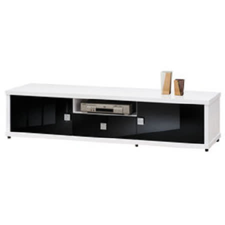 HAPPYHOME 米蘭6尺白色電視櫃UZ6-217-3