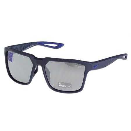 NIKE- 反光運動太陽眼鏡(藍色)