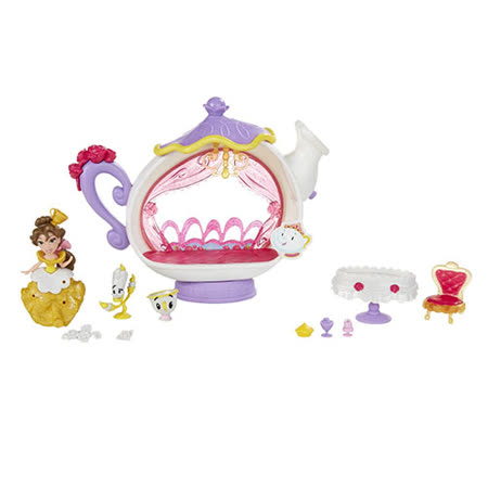 《Disney 迪士尼》迷你公主情境遊戲組-貝兒