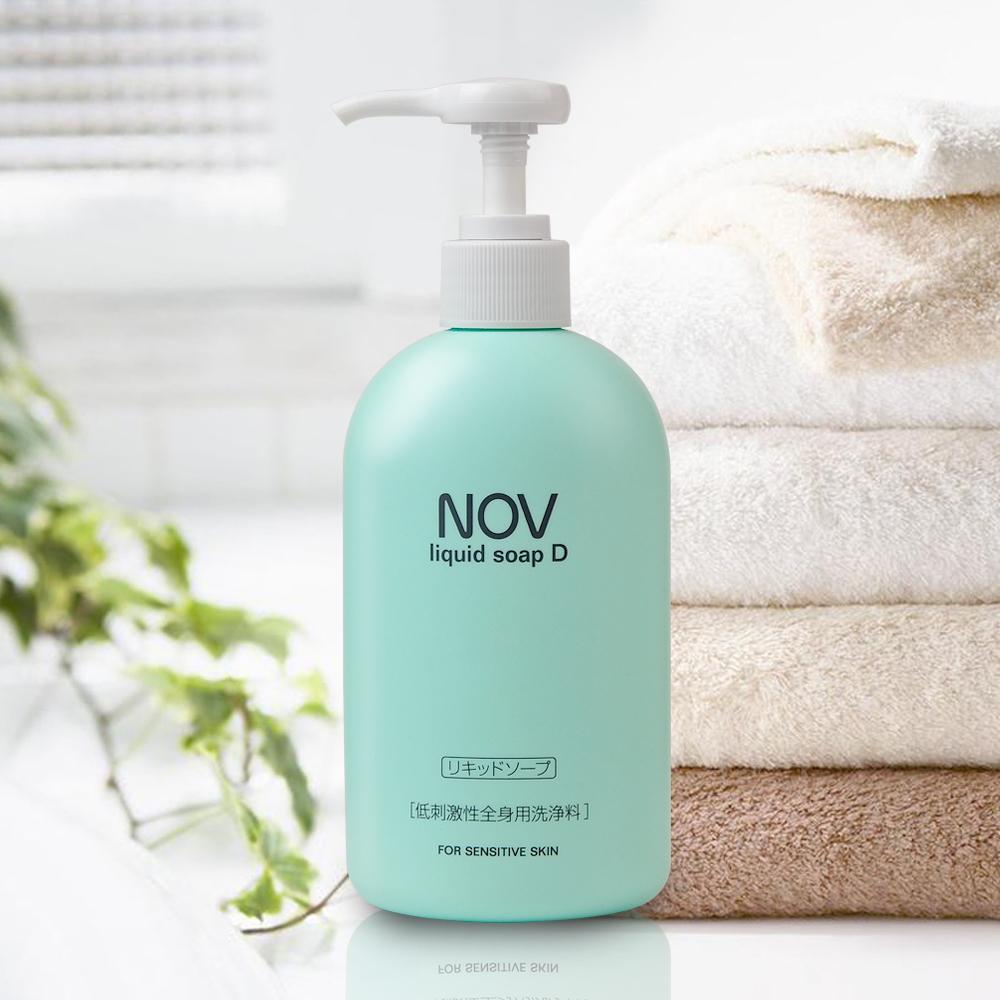 【NOV娜芙】娜芙 溫和沐浴乳D 300ml  隨機贈妝品體驗包2包