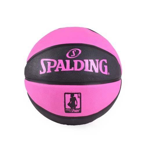 SPAL台中 中 友 百貨 公司DING NBA 4HER籃球-斯伯丁 運動 休閒 黑粉 F