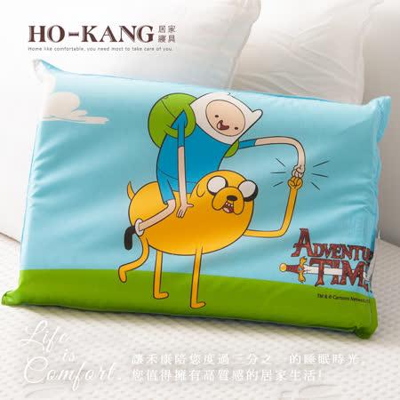 HO KANG 經典卡通 100%天然幼童乳膠枕-老皮玩伴