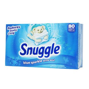 SNUGGLE衣物柔軟片80張