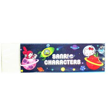 太空Hello Kitty 黏屑橡皮擦(3入)