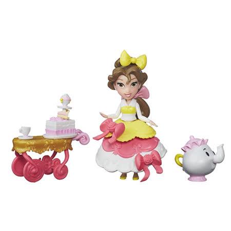 《Disney 迪士尼》迷你公主及配件遊戲組 - 貝兒