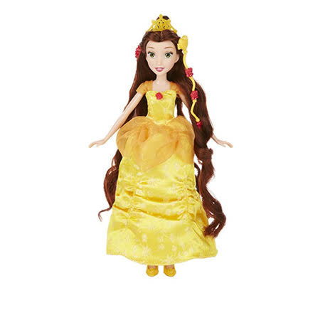 《Disney 迪士尼》公主裝扮頭髮遊戲組 - 貝兒