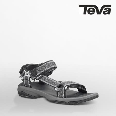 TEVA 男 TERRA FI LITE運動涼鞋(黑/灰)