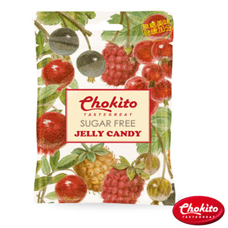 CHOKITO 西班牙無糖水果風味軟糖30g(任選)