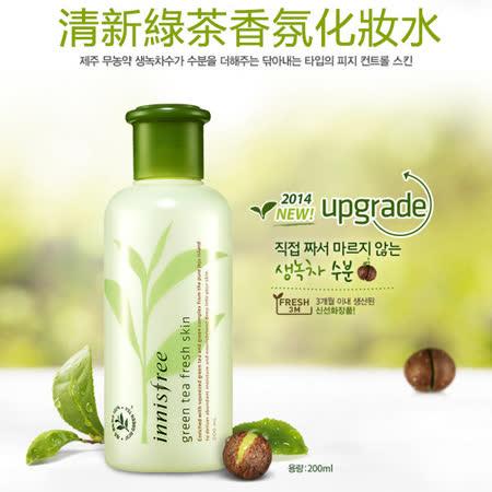 Innisfree 清新綠茶香氛化妝水 200ml