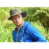 Pelliot西部牛仔帽附拷扣可通風開闊視線適攝影健行登山露營夜晚走路釣魚野餐