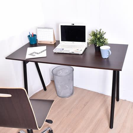 【凱堡】桌子書桌 A字工作桌電腦桌(胡木)