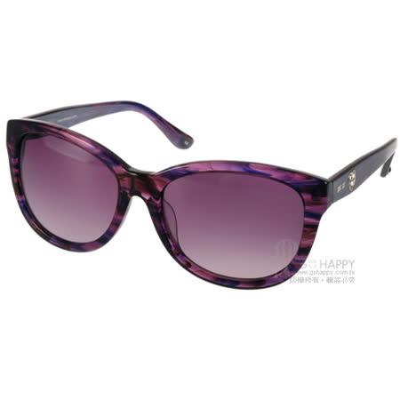 ANNA SUI太陽眼鏡 典雅愛心鑽飾款(花紋紫) #AS1018-1 C720