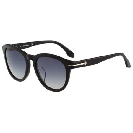Calvin Klein- 復古太陽眼鏡(黑色)