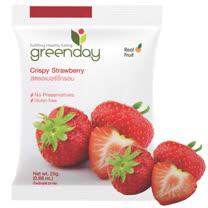 Greenday草莓凍乾(25g/包) x6包