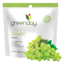 Greenday葡萄凍乾(18g/包) x10包