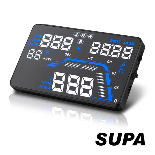 速霸 Q7 HUD多功能G行車紀錄器安裝PS抬頭顯示器