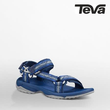 TEVA 男 TERRA FI LITE運動涼鞋(幾何藍)