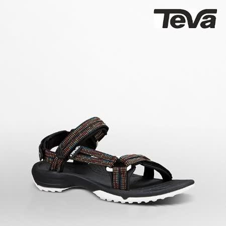 TEVA 女 TERRA FI LITE運動涼鞋(彩色黑)