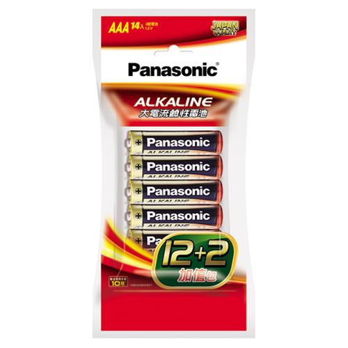 國際牌 大電流鹼性電池4號 12 2入組