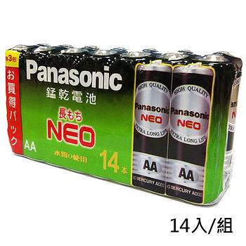 國際牌 黑錳乾電池3號 14入/組