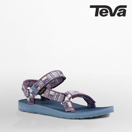 TEVA 女 ORIGINAL UNIVERSAL織帶涼鞋(印加紫紅)