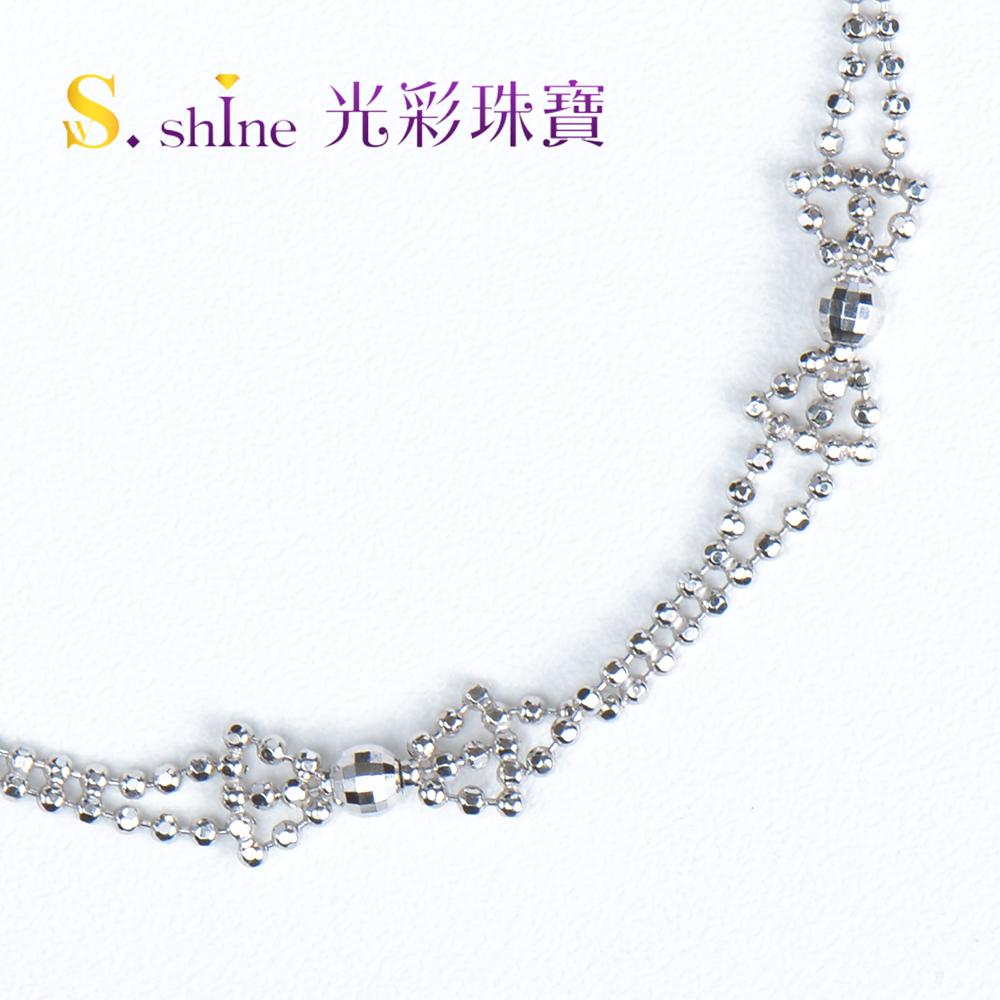 【光彩珠寶】日本鉑金手鍊 蝴蝶結之戀