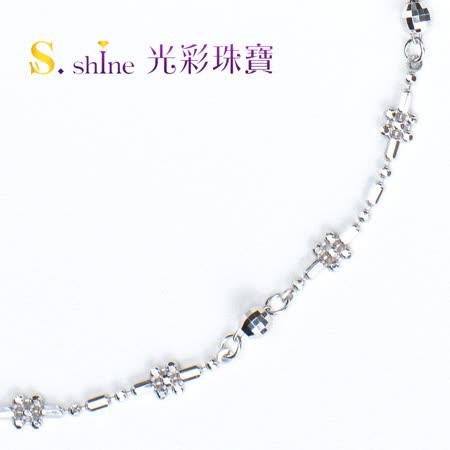 【光彩珠寶】日本鉑金手鍊 初春