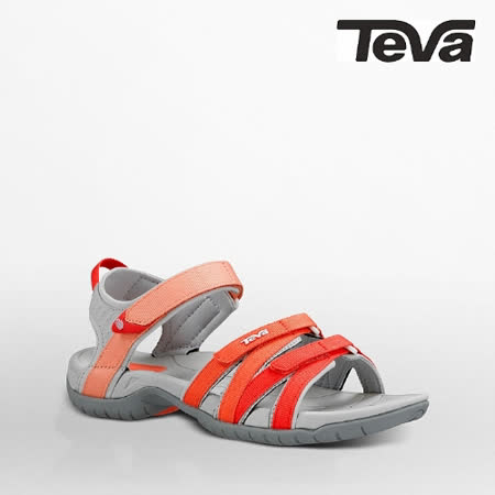 TEVA 女 TIRRA運動涼鞋(漸層菊紅)