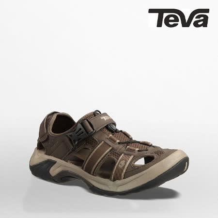 TEVA 男 OMNIUM護趾運動涼鞋(深灰色)