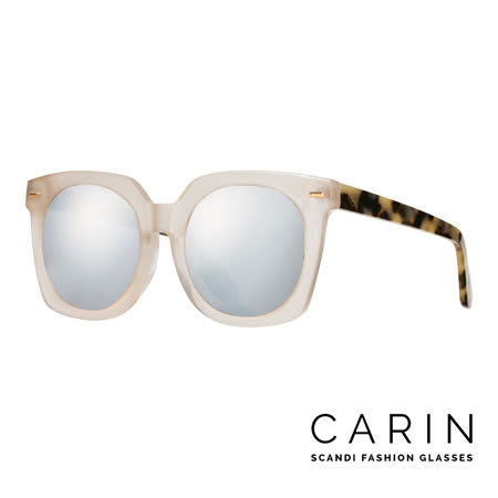 CARIN 秀智(missA-Suzy)代言-太陽眼鏡 Vesio-C3-Silver mirror(玳瑁卡奇色)