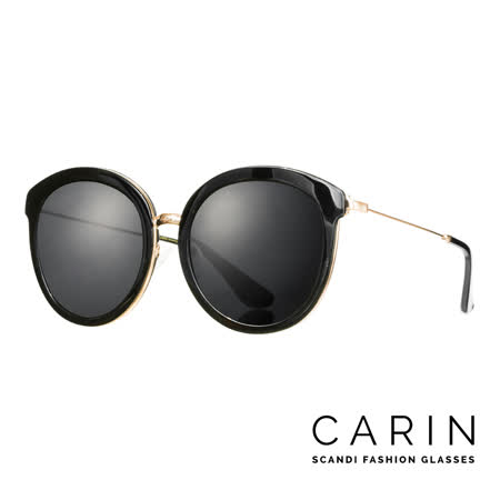CARIN 韓國名星愛用經典款太陽眼鏡 Muren-C1 (黑)