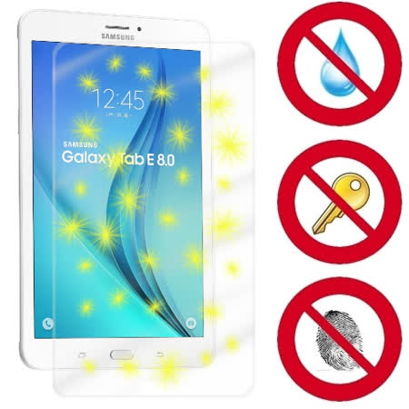 D&A Samsung Galaxy Tab E 8.0 (8吋)日本原膜螢幕貼(NEW AS玻璃奈米型)