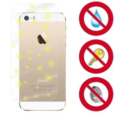 D&A APPLE iPhone 5S/SE 日本原膜5H機背保護貼(NEW AS玻璃奈米)