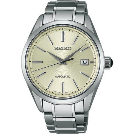 SEIKO Brightz 商務經典機械錶-銀/41mm 6R15-02W0S(SDGM001J)