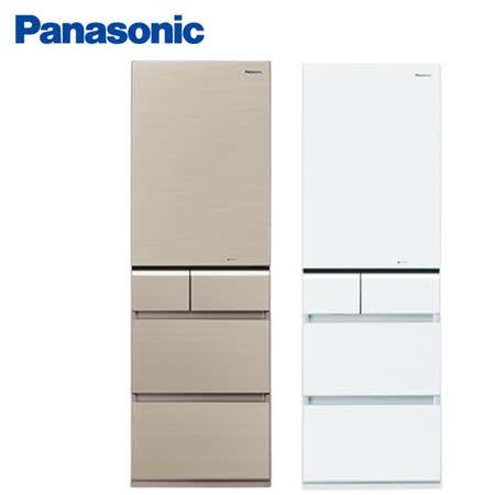 ★地區限送桃園以北★Panasonic 國際 430L五門 日本製變頻冰箱 NR-E431VG