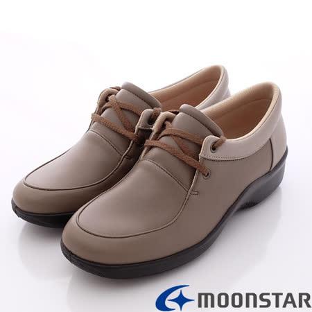 日本輕熟女機能鞋-日本製EVE休閒仕女舒適服貼機能鞋(3E) -V2603淺咖(22~24.5cm)