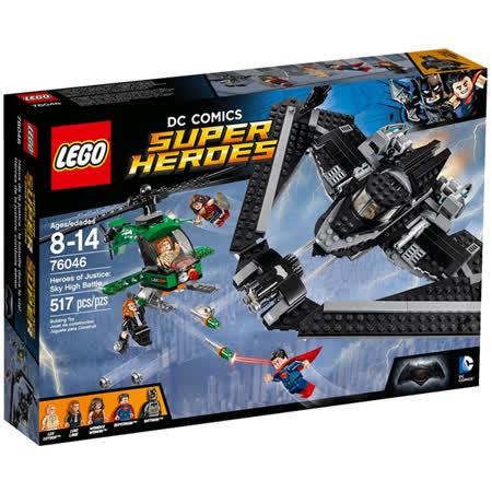 LEGO《 LT76046 》 SUPER HEROES 超級英雄系列 - Sky High Battle